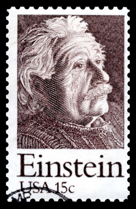 Albert Einstein Postage Stamp