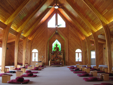 Bhavana Society Meditation Hall