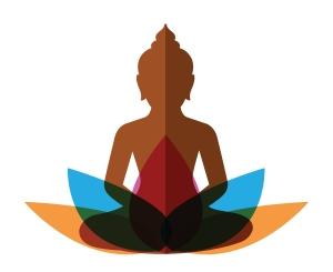 meditating Buddha illustration