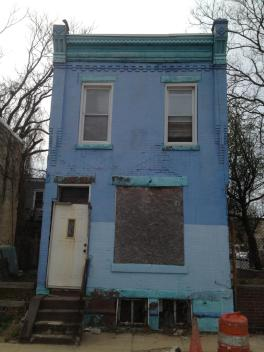 A recent photo of a home on Philadelphia's Natrona Street.