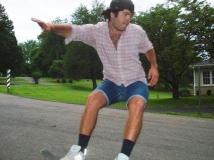Thomas Harkrader Pine Skateboard