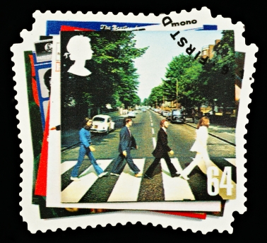 Beatles Postage Stamp
