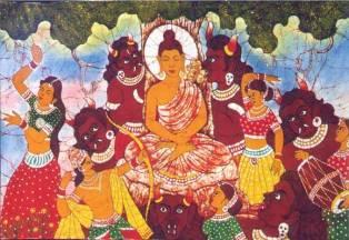 Buddha and Mara