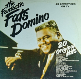 LP Record Cover by Fats Domino